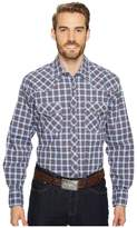 Wrangler 20X Competition Two-Pocket Snap AC Shirt Plaid Men's Clothing