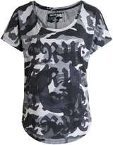 True Religion Scoop Neck Camo T-Shirt