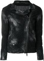 Giorgio Brato distressed zip jacket