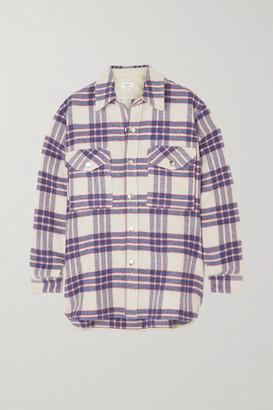 Etoile Isabel Marant Faxonli Checked Wool-blend Jacket