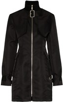 we11done detachable bomber jacket dress