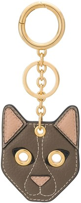 Mulberry Small Cat Keyring