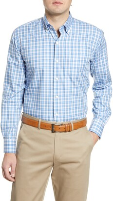 Peter Millar Langley Grand Classic Fit Plaid Button-Down Shirt