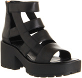 Vagabond Dioon Back Zip Sandals
