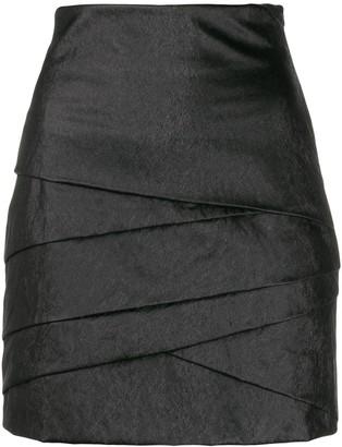 Philosophy di Lorenzo Serafini Layered Mini Skirt