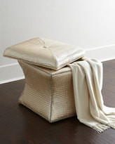 Massoud Landry Storage Ottoman