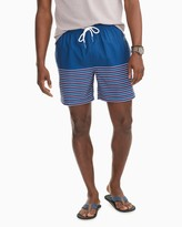 Southern Tide Fireworks Stripe Swim Trunks