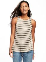 Old Navy Sweater-Knit Keyhole-Back Swing Tank for Women