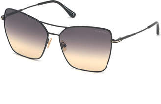 Tom Ford Sye Butterfly Metal Sunglasses