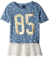 Tommy Hilfiger Star Mixed Media Fashion Top (Big Kids)