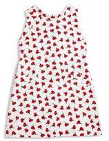 Oscar de la Renta Toddler's, Little Girl's & Girl'sCarnation Bud Cotton Bow-Back Dress