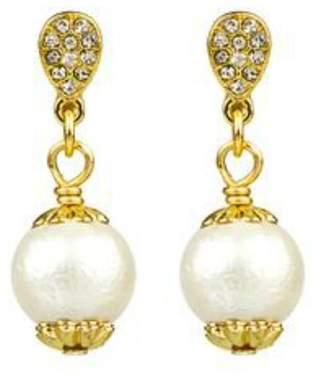 John Wind Maximal Art Cotton Pearl Earrings