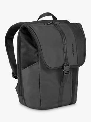 Briggs & Riley Delve Large Foldover Backpack, Black