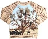 Popupshop Tree Print Organic Cotton Sweatshirt