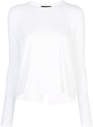 ALALA long-sleeve flared top