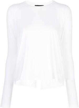 ALALA Long-Sleeve Flared Top