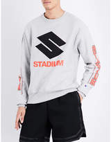 Justin Bieber Stadium cotton-jersey sweatshirt
