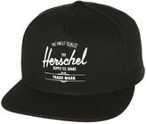 Herschel Whaler Snapback Cap Black