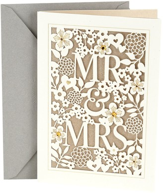 "Hallmark Wedding ""Mr. & Mrs."" Greeting Card"