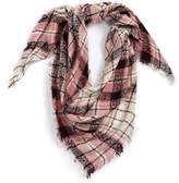 David & Young Dusty Plaid Square Scarf