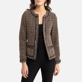 Anne Weyburn Tweed Short Jacket