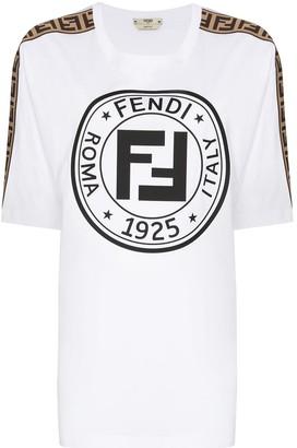 Fendi Fendirama logo-print T-shirt