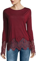 i jeans by Buffalo Lace Tunic Top