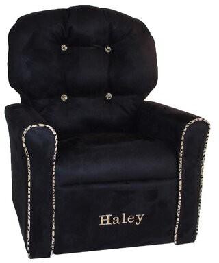 Harriet Bee Hatchett Personalized Kids Rocking Chair Customize: Yes