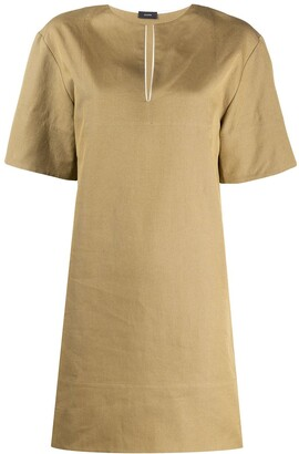 Joseph Long-Line Tunic Top