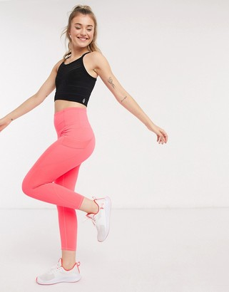 FREE PEOPLE MOVEMENT end game leggings in coral