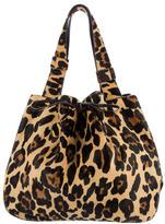 Alaia Ponyhair Bucket Bag