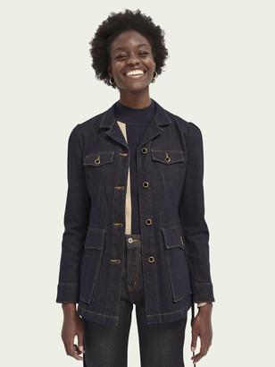 Scotch & Soda Military denim jacket   Women