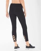 Soma Intimates Cotton Blend Strappy Yoga Leggings