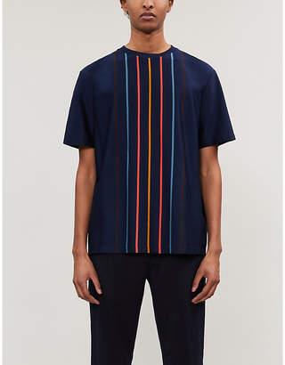 Paul Smith Striped cotton-jersey T-shirt