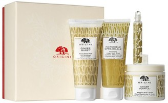 Origins Ginger Essence Bath & Amp, Body Gift Set