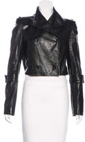 Rachel Roy Leather Cropped Jacket