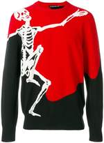 Alexander McQueen Dancing Skeleton sweater