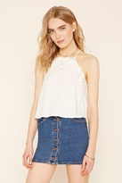 Forever 21 FOREVER 21+ Contemporary Embroidered Cami