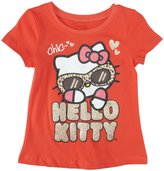 Hello Kitty Graphic T-Shirt (Toddler) - Coral-2T