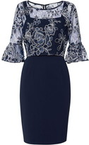 Gina Bacconi Carina Dress And Overtop
