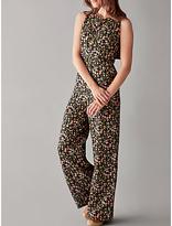 People Tree V&A Tulip Print Jumpsuit, Multi