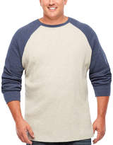 THE FOUNDRY SUPPLY CO. The Foundry Big & Tall Supply Co. Long Sleeve Crew Neck T-Shirt-Big and Tall