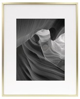 Room Essentials Metal Frame - Brass - 16x20 Matted for 11x14 Photo