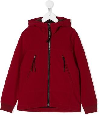 C.P. Company Kids Long Sleeve Hooded Jacket