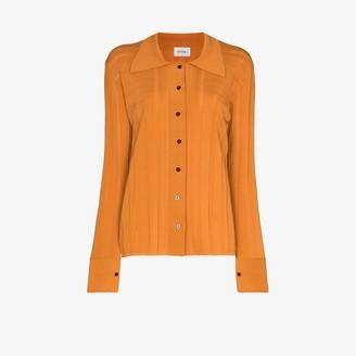 Eftychia Geometric Knitted Shirt