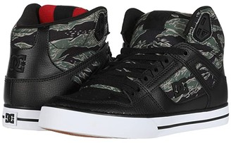 DC High-Top WC SP (Black/Camo Print) Men's Skate Shoes