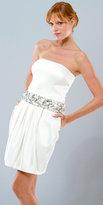 Mignon Short Ivory Dresses