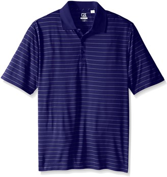 Cutter & Buck Men's Tall Cb Drytec Franklin Stripe Polo