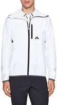 J. Lindeberg Embroidered Hooded Jacket
