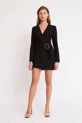 Finders Keepers LULU MINI DRESS Black